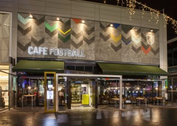 Cafe Football Launch, Westfield Stratford. London.