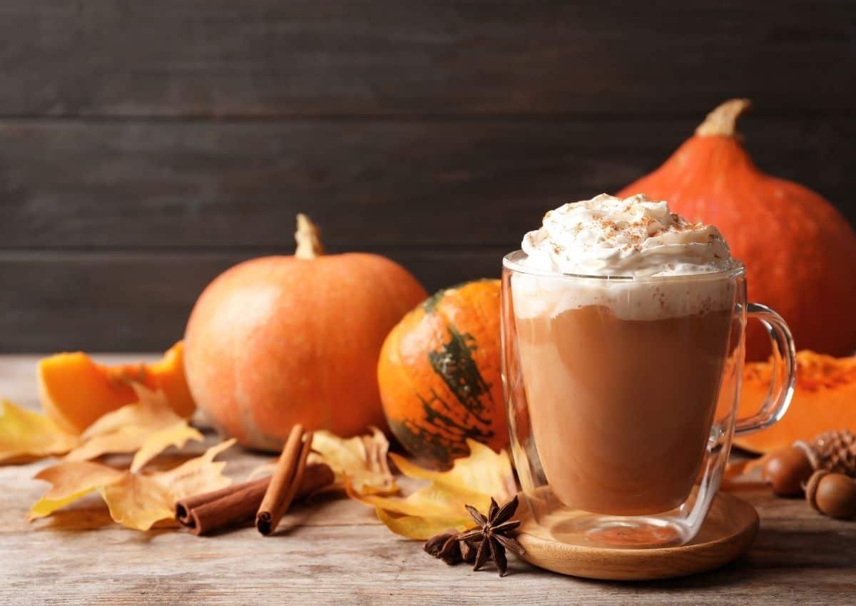 Homemade pumpkin spiced latte