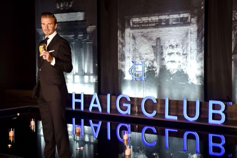 David Beckham at Haig Club Shanghai (PRNewsFoto/Diageo)