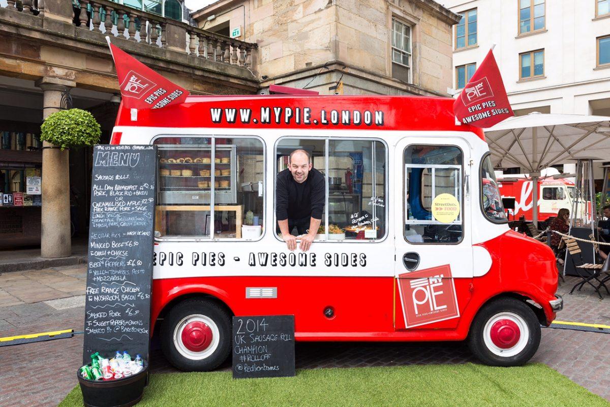 Covent Garden Street Dots Food Festival