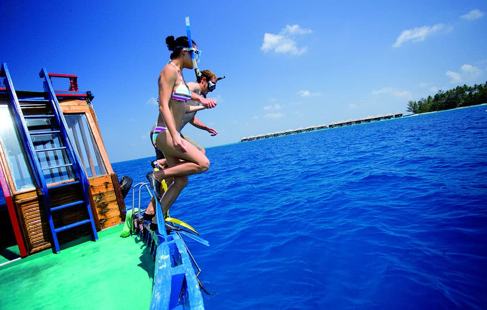 Snorkeling Trip in the Maldives
