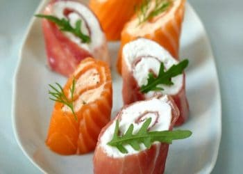 How To Make: Smoked Salmon Canapés & Air Dried Ham Roulades