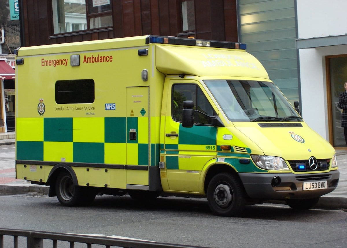 Ambulance - stock image