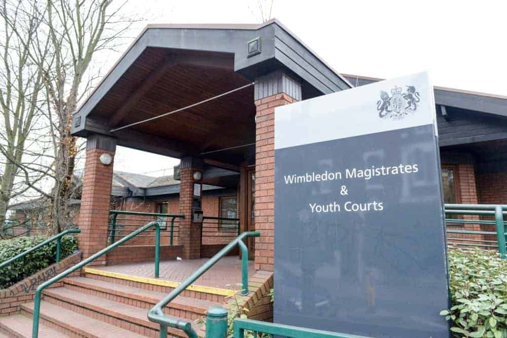 EMBARGOED MONDAY 4-APR-2016 18:00 GMT. File pic - General view of Wimbledon Magistrates court. See NATIONAL copy NNWIRE. Cleaning the barbecue with a wire brush could be putting your family at risk, a new study warned. There is a danger that bristles could become loose, stick to the grill and then be eaten and becoming lodged in the mouth or throat. And the danger is more common than thought as Katherine Willans, 34, found to her cost. She had to undergo surgery after an inch long wire bristle in a panini bought from Caffe Nero became lodged in her throat. It had came from a wire brush wrongly used to clean a grill at the chain's shop in Putney High Street in south west London. But the chain was cleared of any wrongdoing of breaching food hygiene regulations by magistrates after hearing staff ignored strict training procedures and brought in the wire brush because they thought it was more efficient.
