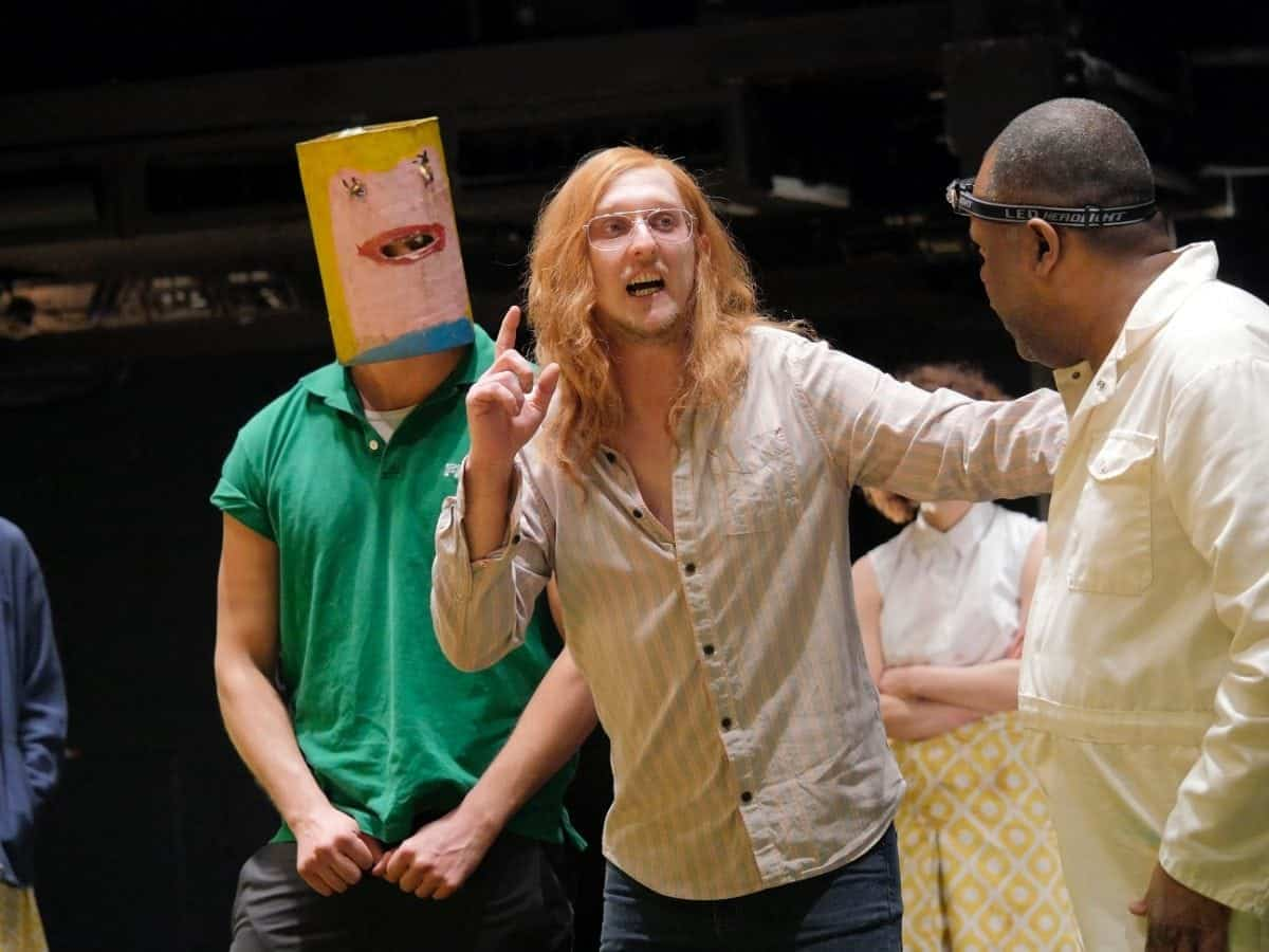 Young Vic production of A Midsummer Night's Dream Directed by Joe Hill-Gibbins