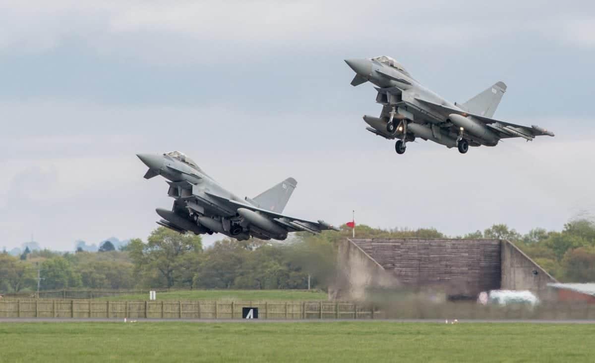 Typhoon jets (c) SWNS