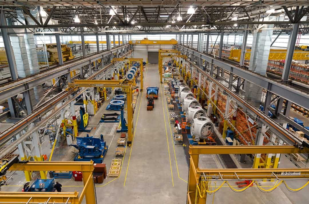 Nordex USA nacell manufacturing facility