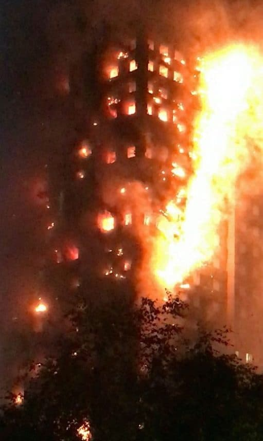 Firefighters continue to try and bring the blaze under control at 27-storey Grenfell Tower in Latimer Road, White City, London 14 June 2017. FILE PHOTO. See National News story NNTOWER: Specialists working at Grenfell Tower have made 87 'recoveries' of human remains in the tower - but warn that could mean more than 87 separate people. More than 250 investigators are still working at the scene, and will have to comb through over 300 tonnes of debris in the burnt-out shell of the tower to find what is left of the victims. Police say 21 people have been formally identified, but it could take until the end of the year to have an accurate number of victims. Last night, families of those who died or are missing and presumed dead met with key members of the Metropolitan Police and the Senior Coroner, Dr Fiona Wilcox.
