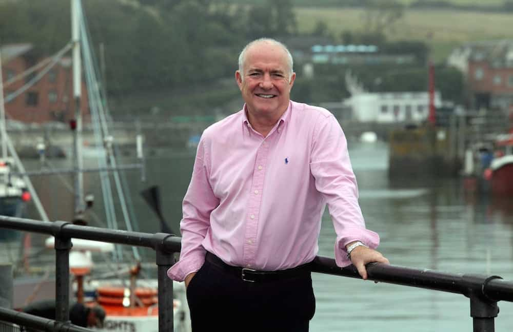 """FILE PICTURE - Celebrity chef Rick Stein pictured at the Harbour in Padstow.  See SWNS story SWTERROR; A Cornish terror group dubbed the 'Ooh R A' has claimed responsibility for firebombing Rick Stein's seaside restaurant - and claims it has a would-be SUICIDE BOMBER in its ranks.  The Cornish Republican Army (CRA) says it carried out the attack last month as part of a renewed campaign to prevent the """"ethnic cleansing of the people of Kernow"""". Formerly known as the Cornish National Liberation Army (CNLA), the group has been dormant for over a decade and was believed to have been disbanded. But in an official blog announcing the name change, the group made a series of chilling threats - including that it has a female martyr prepared to die for the cause. The statement said: """"Our organisation has grown and we now have one member who is prepared to pay the ultimate price in the battle for Kernow."""
