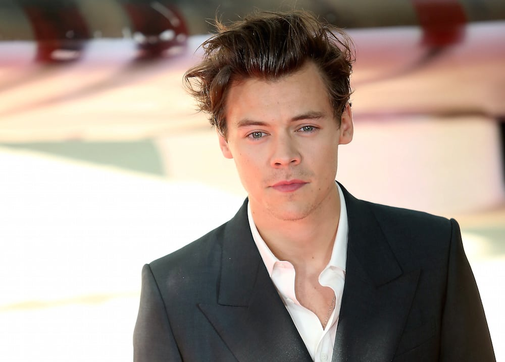 Harry Styles at the world premiere of Dunkirk at the Odeon in Leicester Square. It tells the story of soldiers being evacuated from the beaches of Dunkirk during the Second War War. July 13 2017.