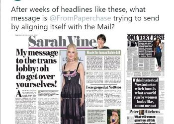 Daily Mail headlines