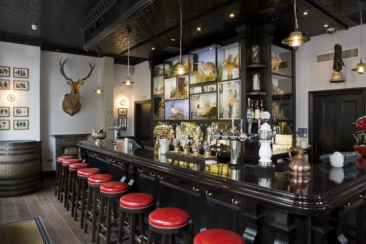 The Jugged Hare best pubs in East London