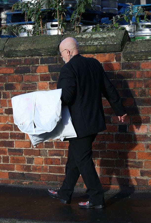 Clothes believed to be destined for the wedding of Charles Bronson arrive at Wakefield Prison. 14 November 2017. Bronson is to marry former Emmerdale star Paula Williamson. Bronson – who is now known as Charles Salvador – is due to get married to fiancee Paula Williamson in an intimate ceremony at HMP Wakefield.