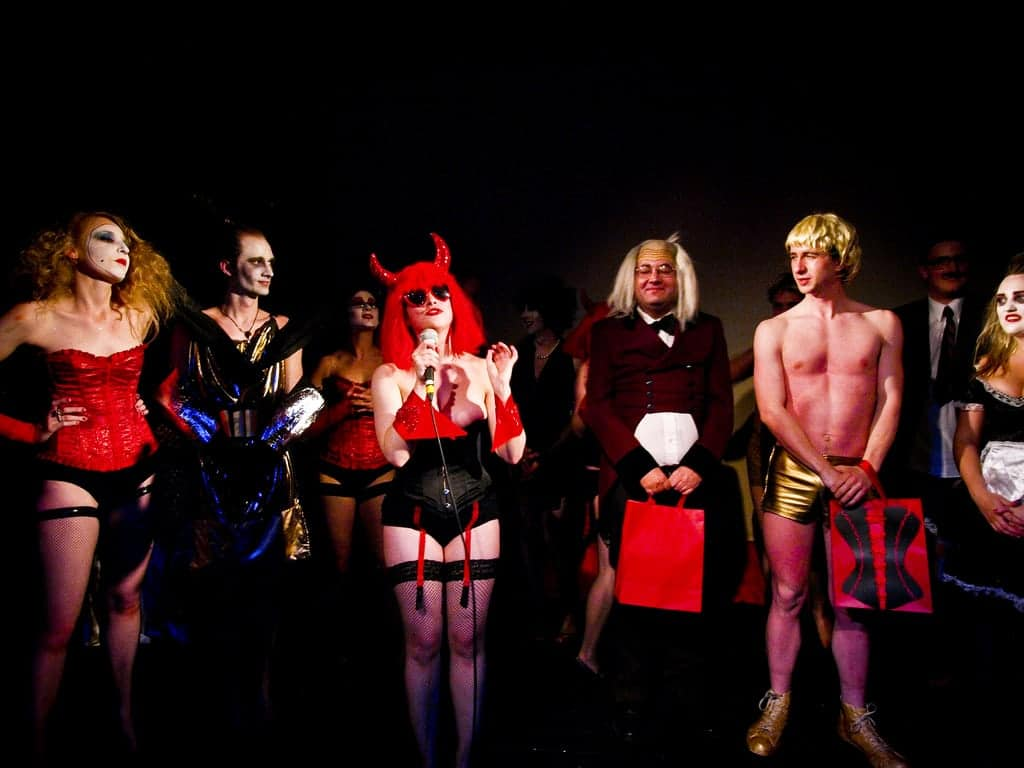 """Venue: the Sugar ClubThe Sugar Club,Leeson StOn Friday 13th of June, Rocky Horror Picture Show is being staged for it's 6th installment""""The Rocky Horror Picture Show""""The Sugar Club, Leeson St Friday, June 13thDoors 8.00pmGuest performance fromMiss Dotty Potts 8.30pmShow 9.00pmAdmission €15MORE INFORMATION www.myspace.com/rockyhorrorireland"""