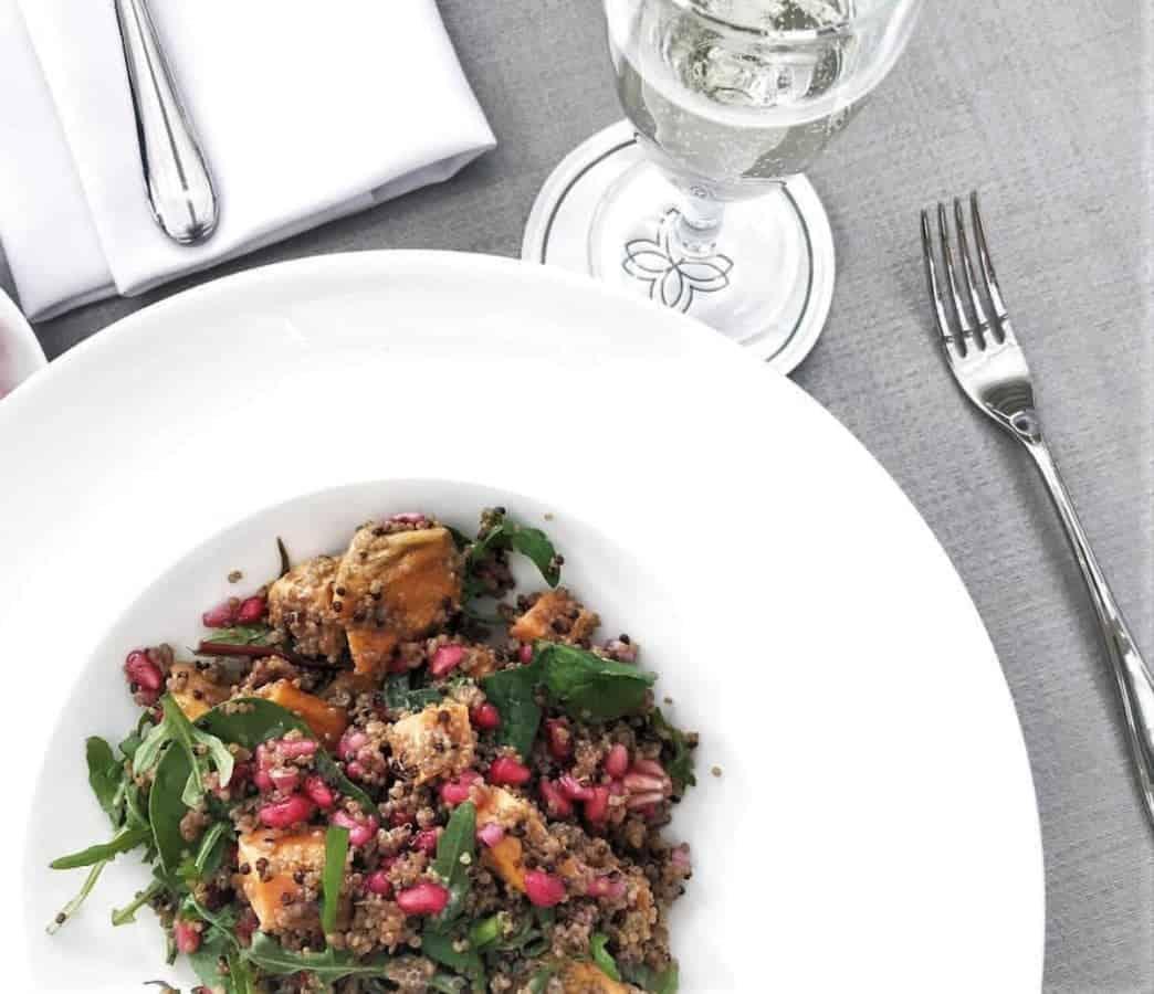 Quinoa, Fennel & Sweet Potato Salad | Photo Credit: @Home.with.harper