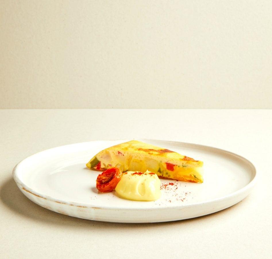 Tate Picasso Menu Spanish Tortilla   Photo - Katie Wilson
