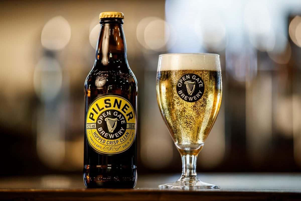 Guinness Open Gate Pilsner