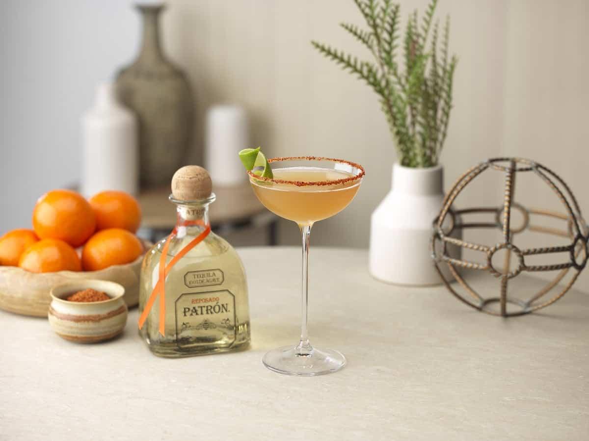 Patron Reposado Tequila Mediterranean Margarita