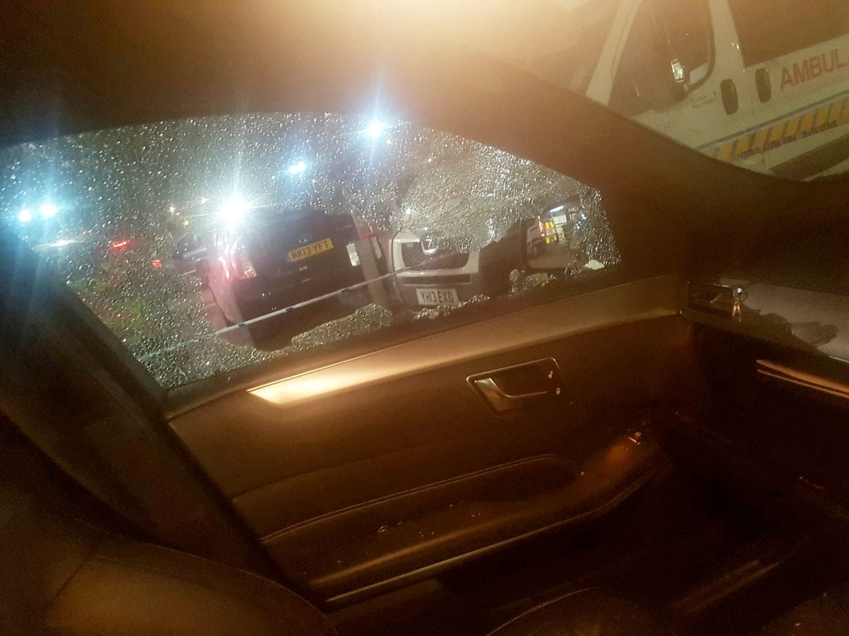 Uber driver tells how passenger shot in Stamford Hill London shotgun ambush