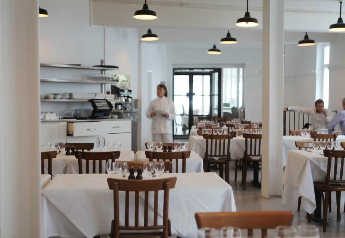 St JOHN Dining Room London's best Restaurants re-opening 17th May indoor dining | Photo: Stefan Johnson