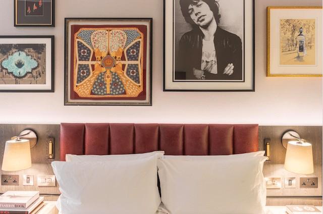 One of the bedrooms at the Trafalgar Hilton © 2018 Hilton