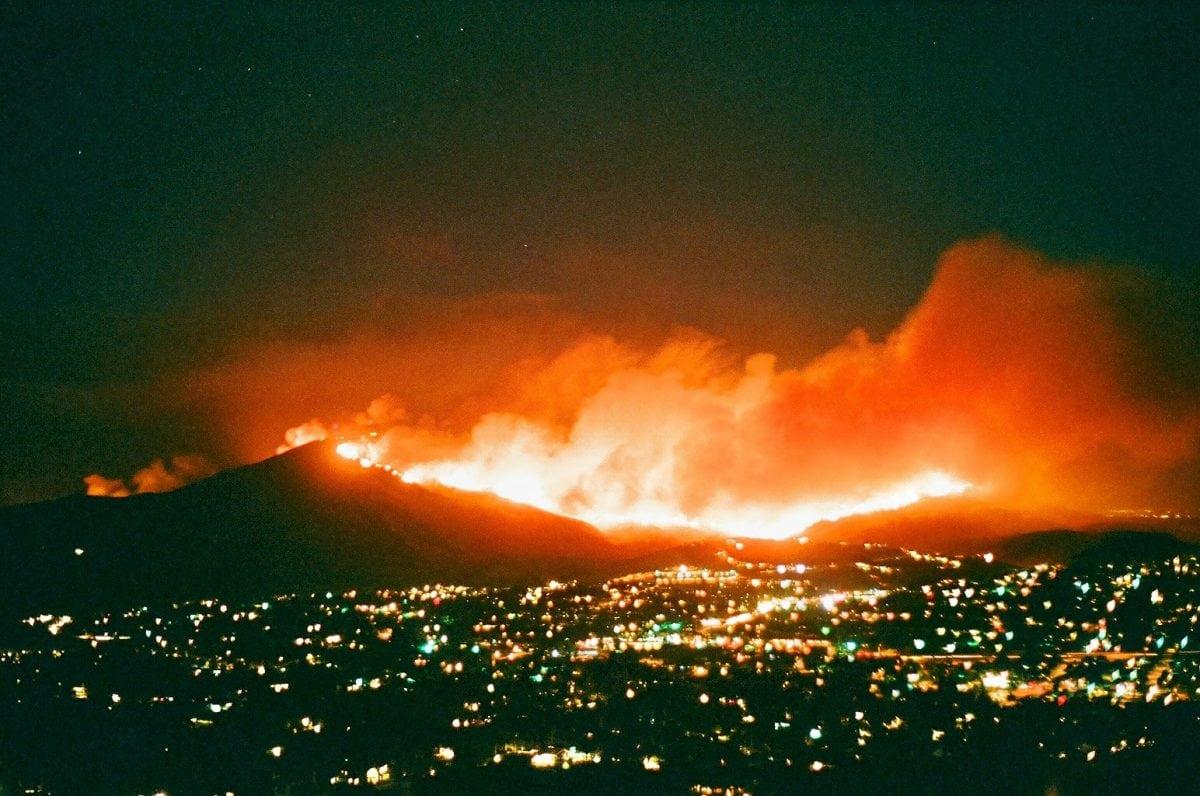 Wild fires in California