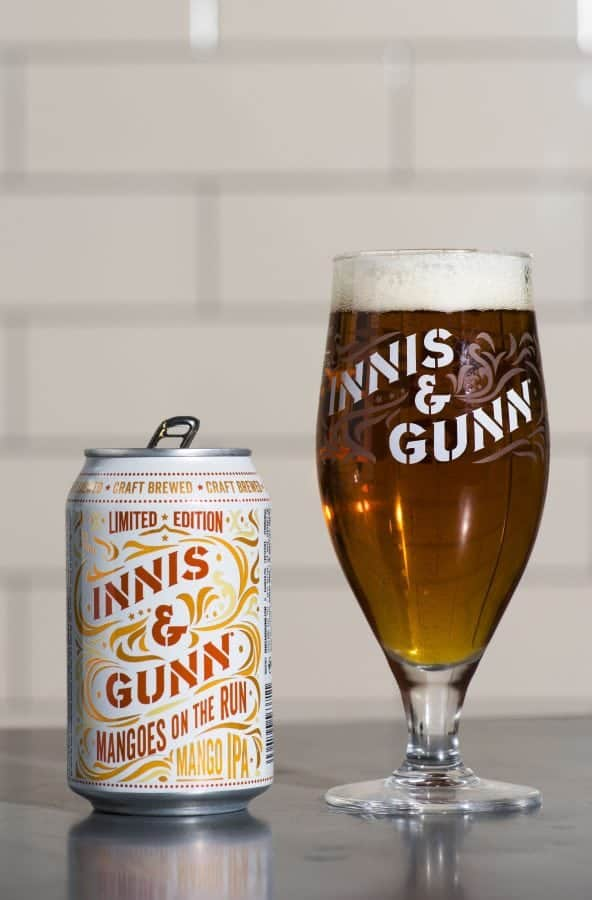 Euro 2020 - the best beers from all 24 competing countries Photo: Alan Richardson Dundee, Pix-AR.co.uk Innis & Gunn Mangoes on the Run IPA