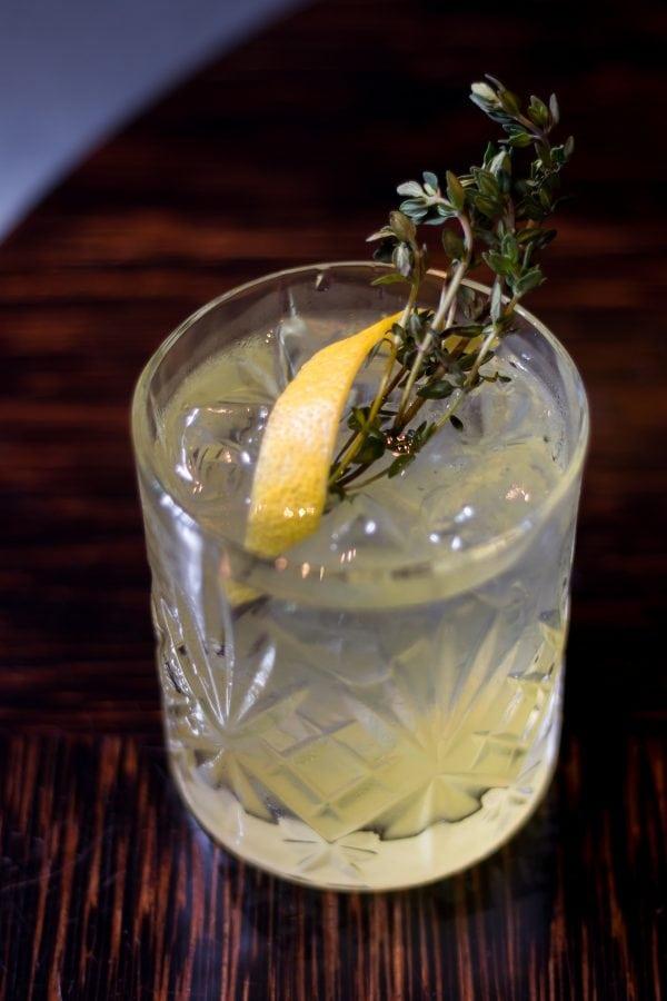May Fair Bar Spritz Collection Limoncello Spritz