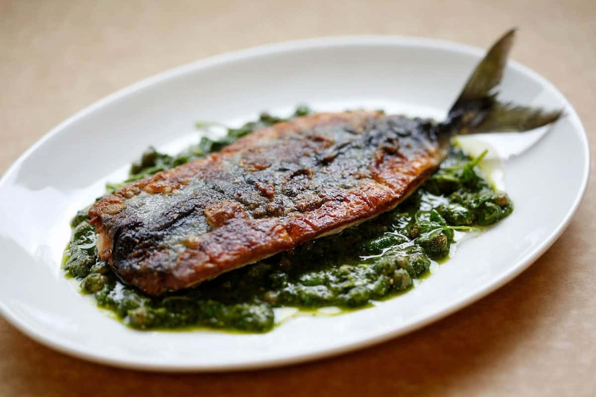 Rocksalt Folkestone - Pan-fried Fish