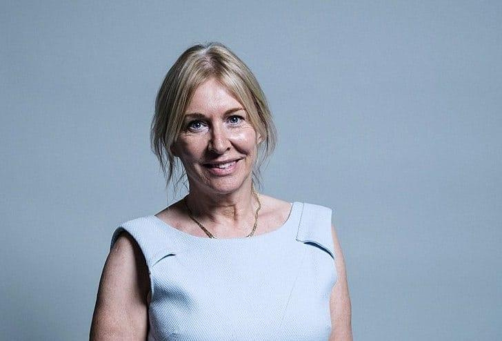 Nadine Dorries - UK Parliament official portraits 2017