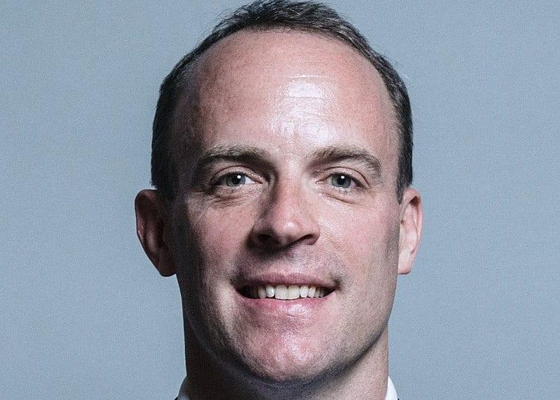 Dominic Raab - UK Parliament official portraits 2017