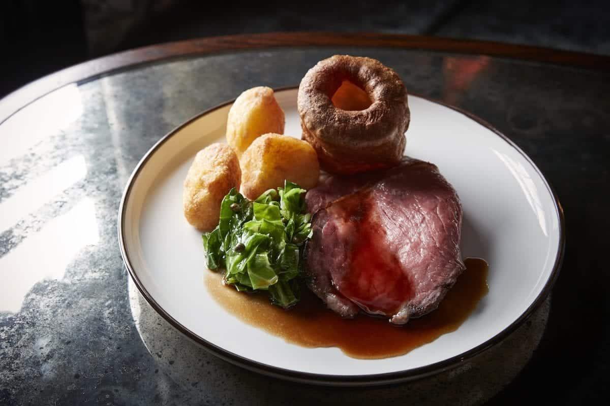 The Hind's Head roast beef   Photo: Tom Osborne