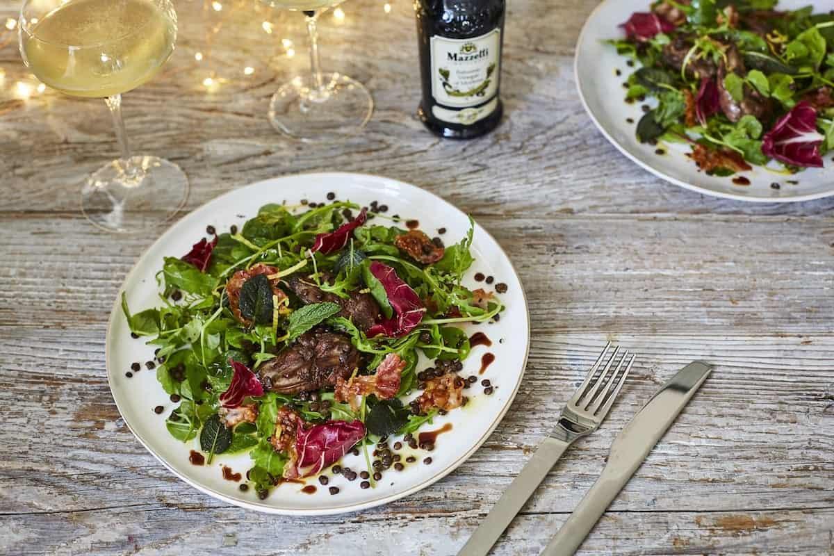Mazzetti Balsamic Vinegar chicken liver salad recipe