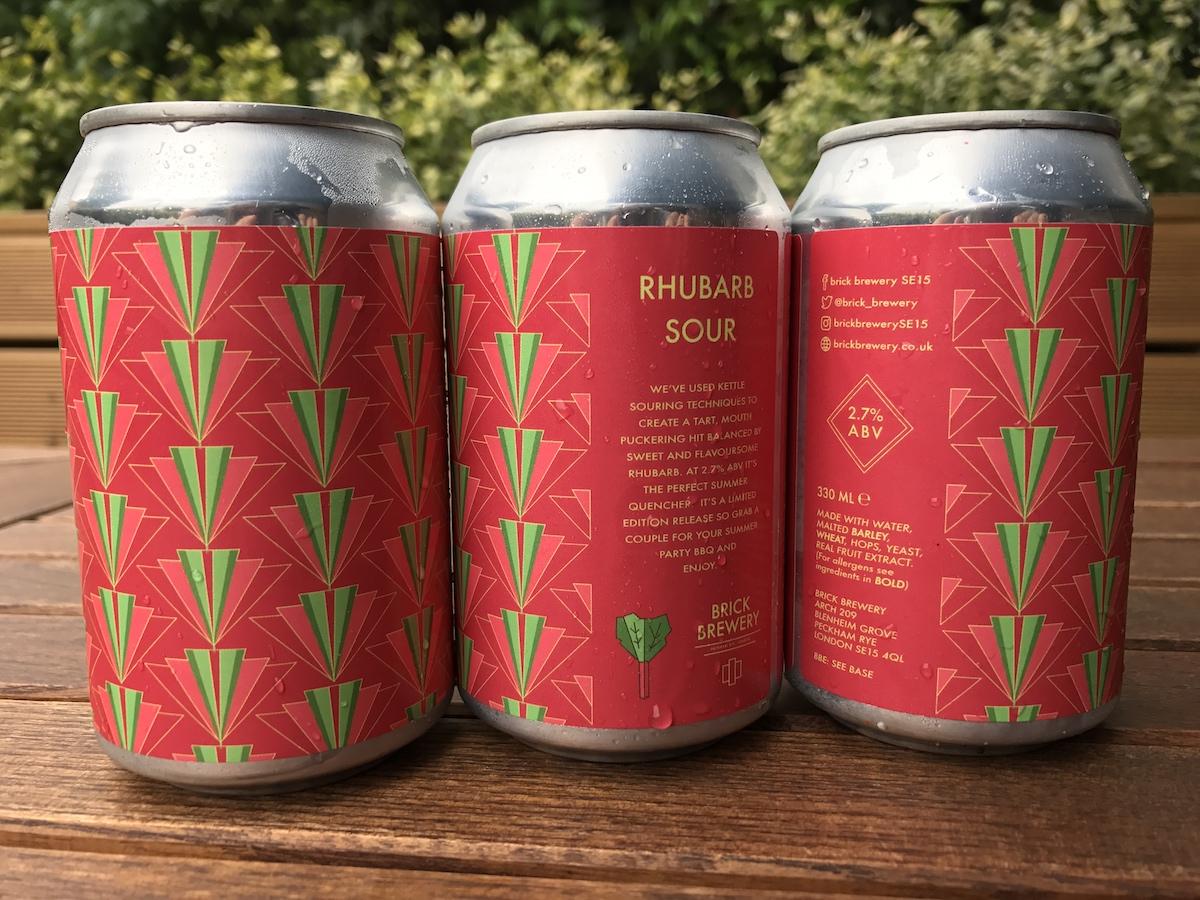 Brick Brewery Rhubarb Sour