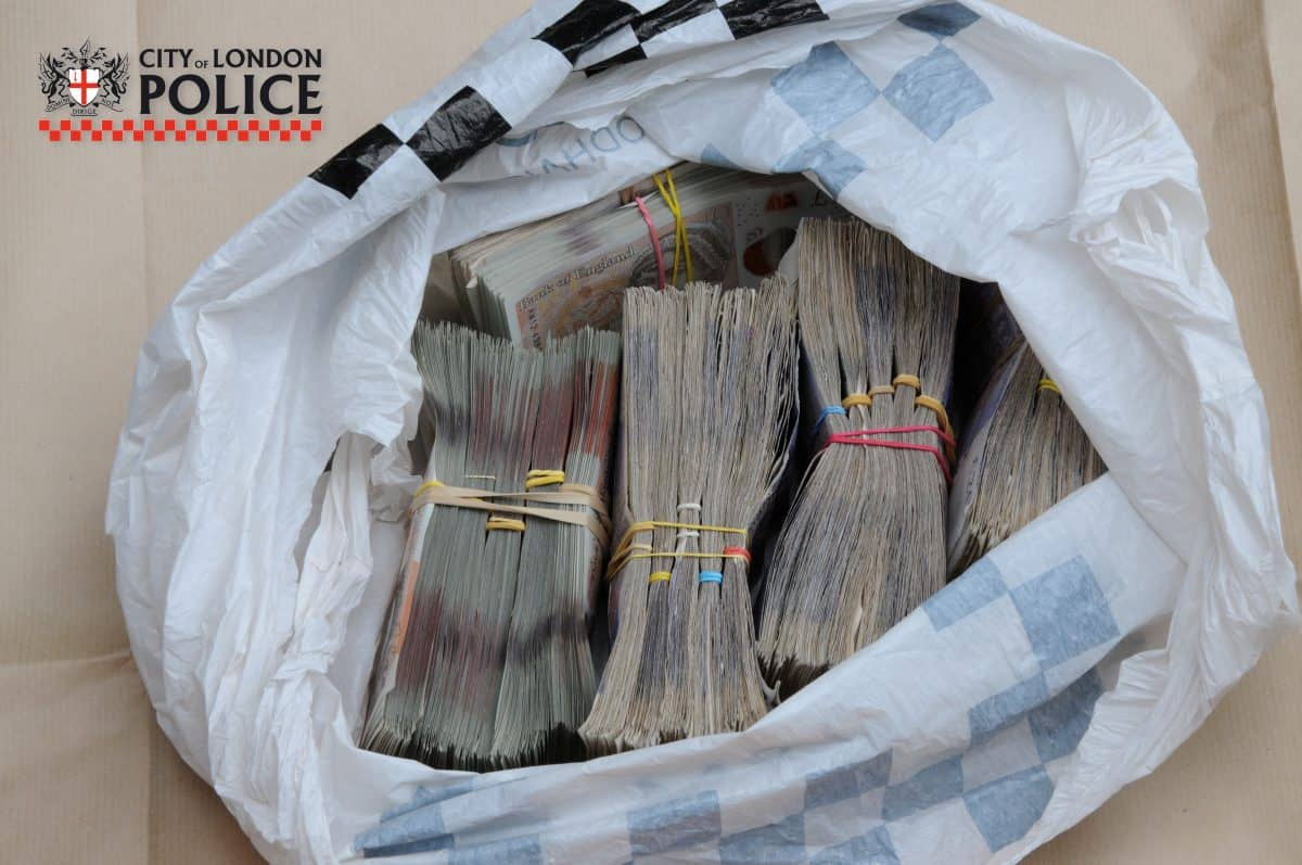 Money - Credit:City of London Police