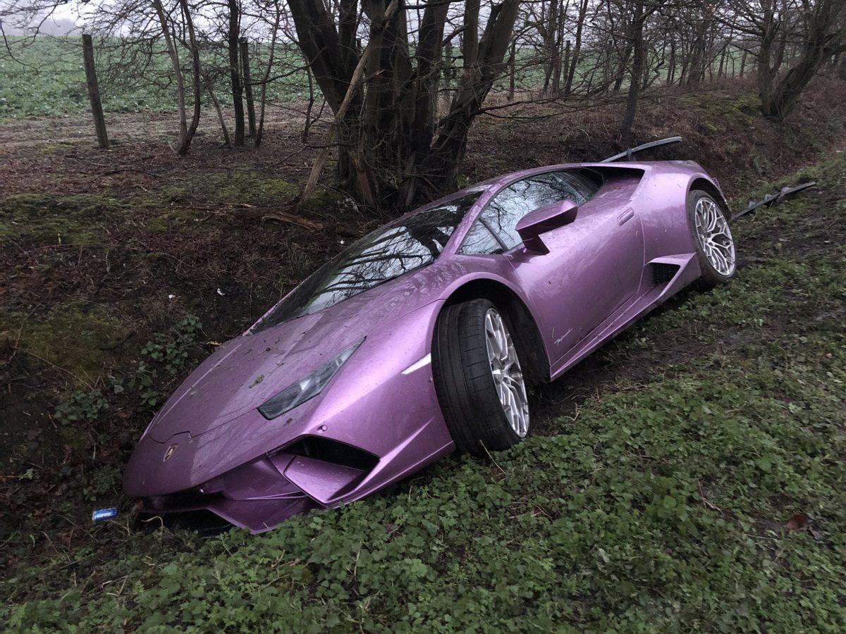 Crash car - Credit: SWNS
