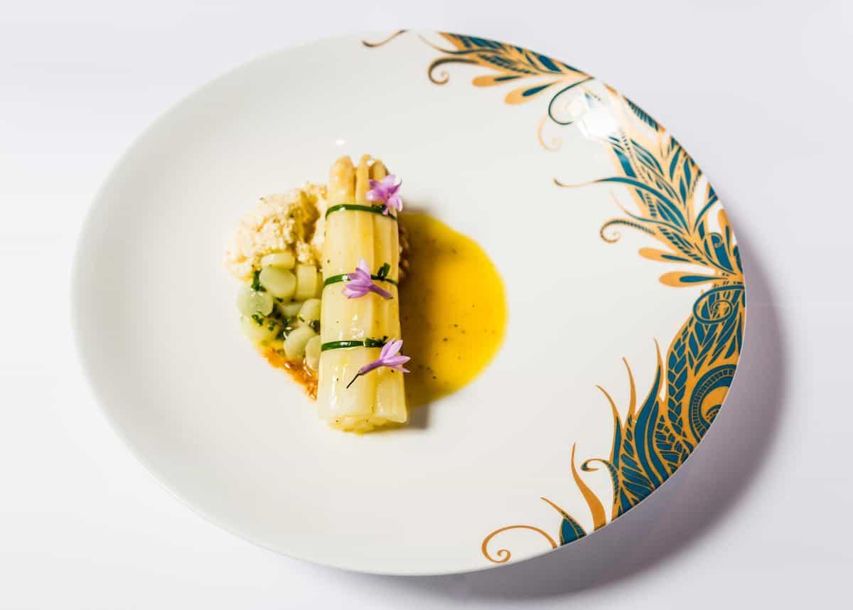 White Asparagus Baptist Grill Recipe L'Oscar dinner party recipes