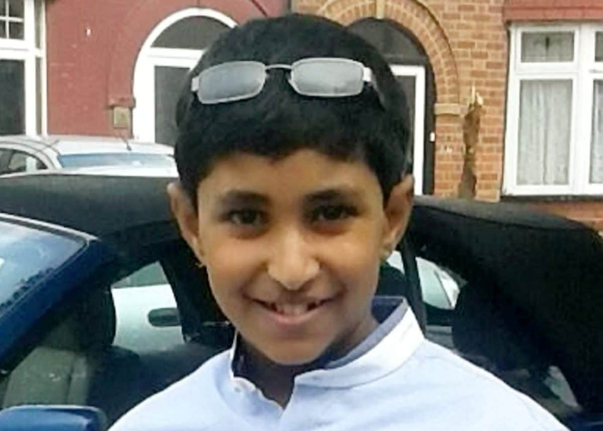 credit;SWNS Karanbir Cheema went into anaphylactic shock after the cheese was flicked at him in June 2017