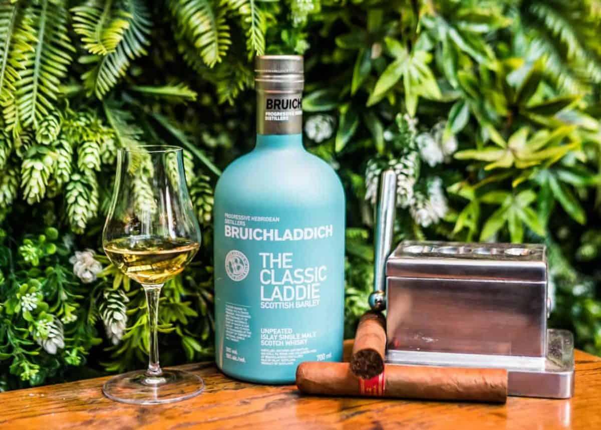 Mr Fogg's Bruichladdich whisky and cigar pairing