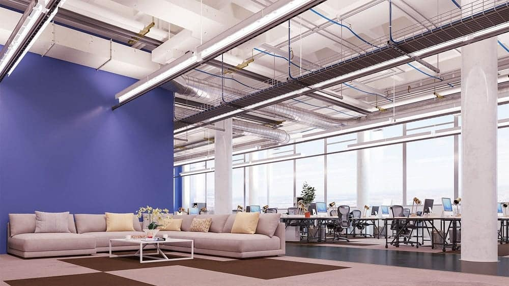Overall Employees Perfect Office Space - TLE