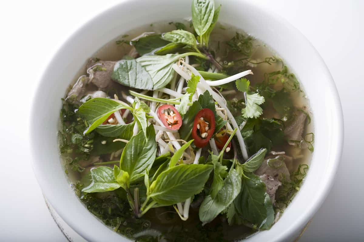 Mien Tay Pho with Sliced Beef