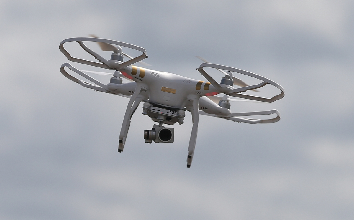 File photo dated 21/8/2015 of a drone. Drone operators will have to pay an annual charge of £16.50 under plans to introduce a new registration scheme in the UK.
