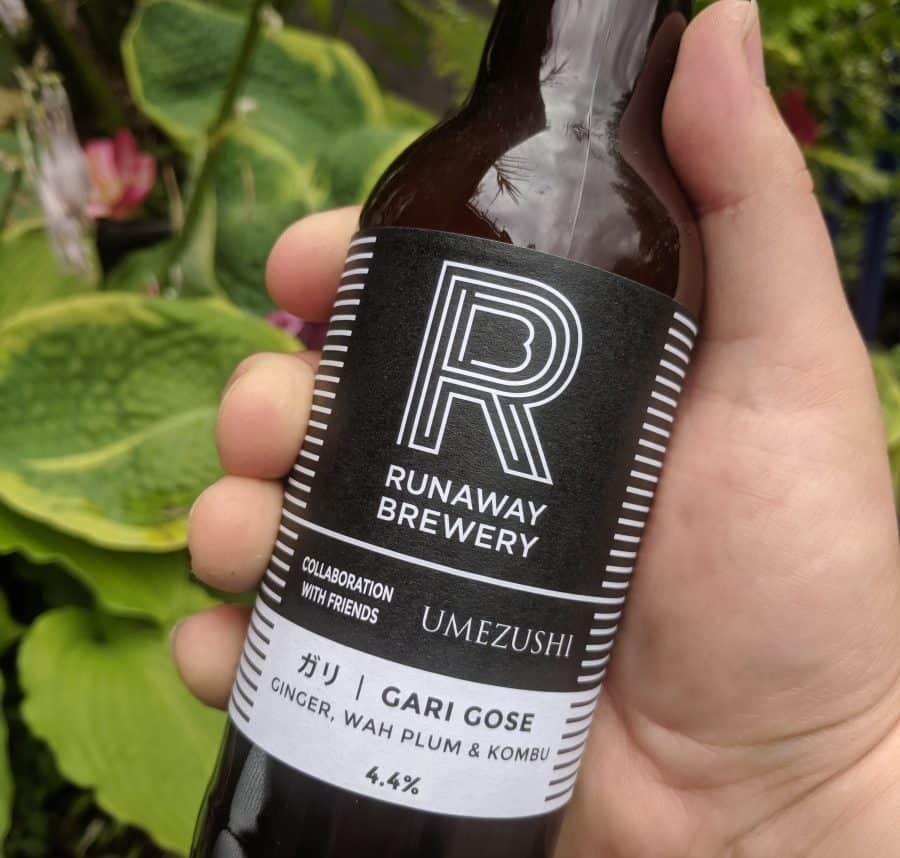 Runaway Brewery Gari Gose