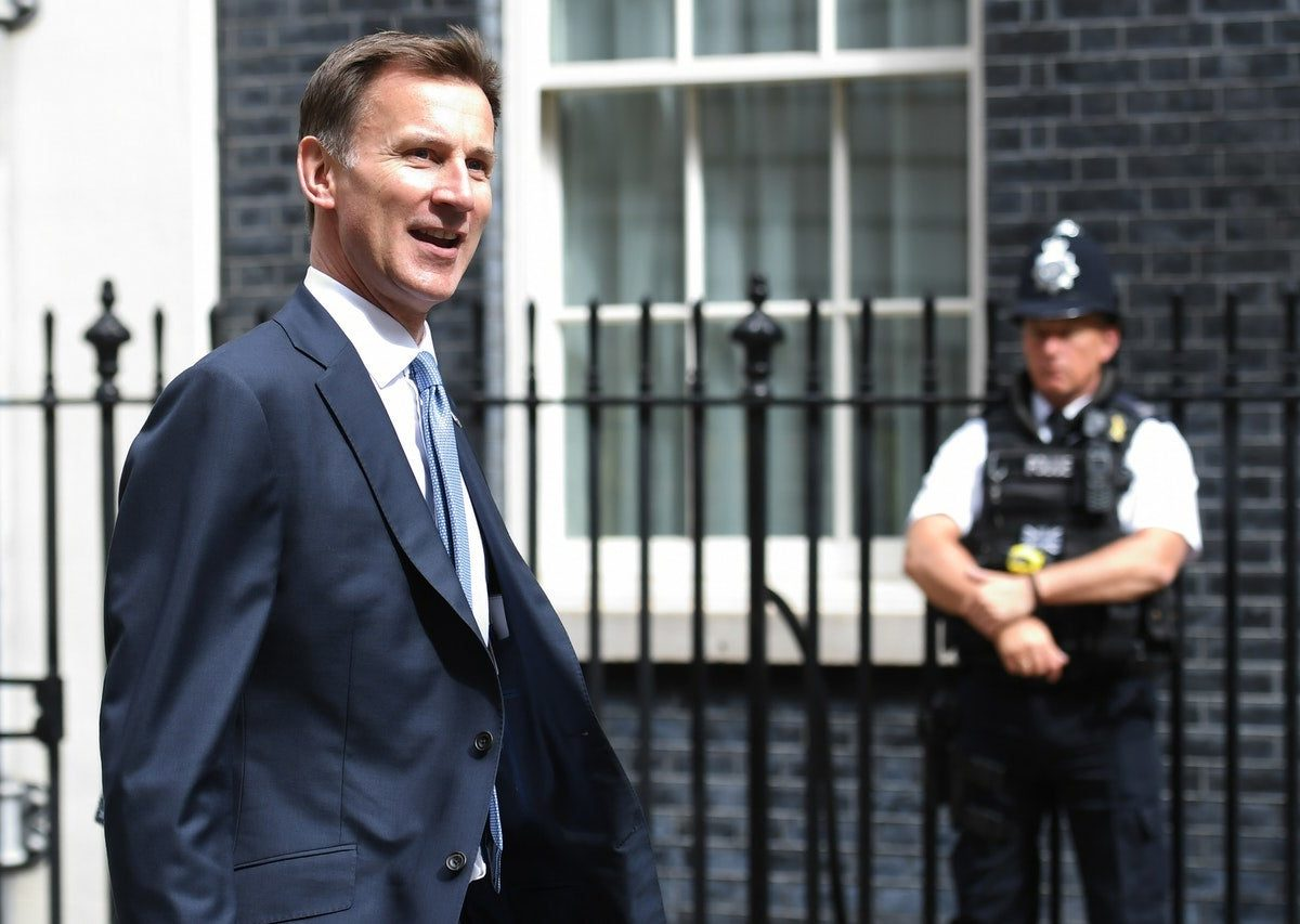 Foreign Secretary Jeremy Hunt arrives in Downing Street for a meeting of the Government's emergency committee Cobra (Stefan Rousseau/PA)