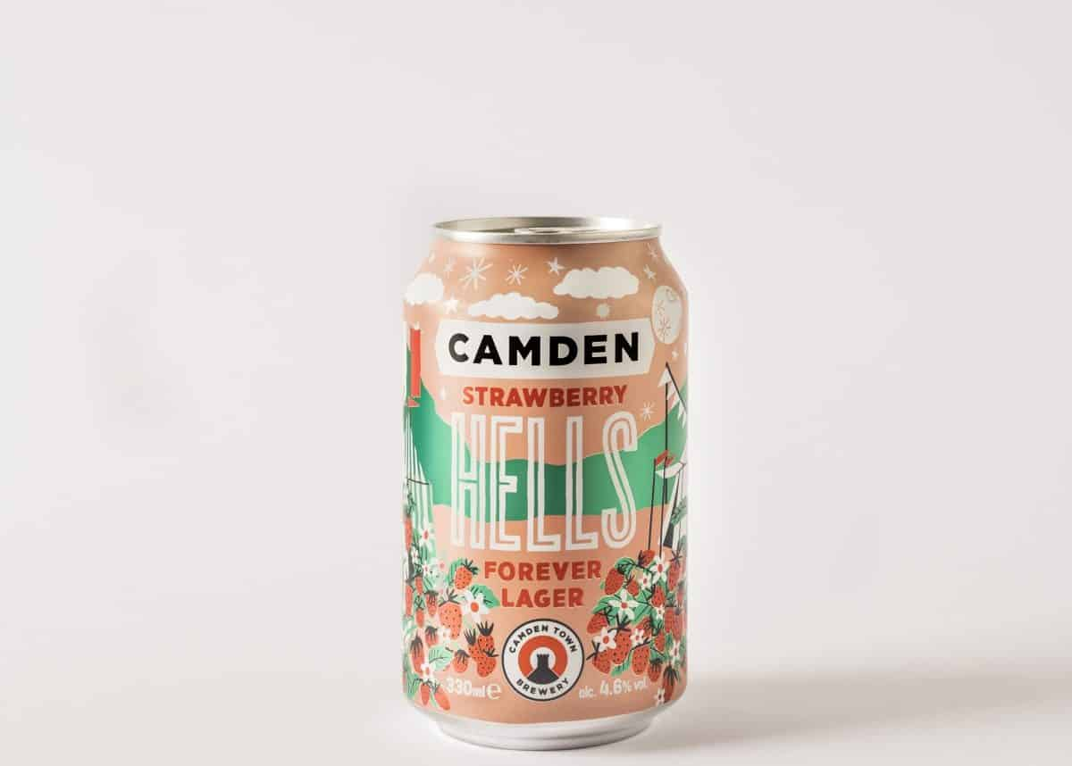 Camden Town Brewery Strawberry Hells Forever