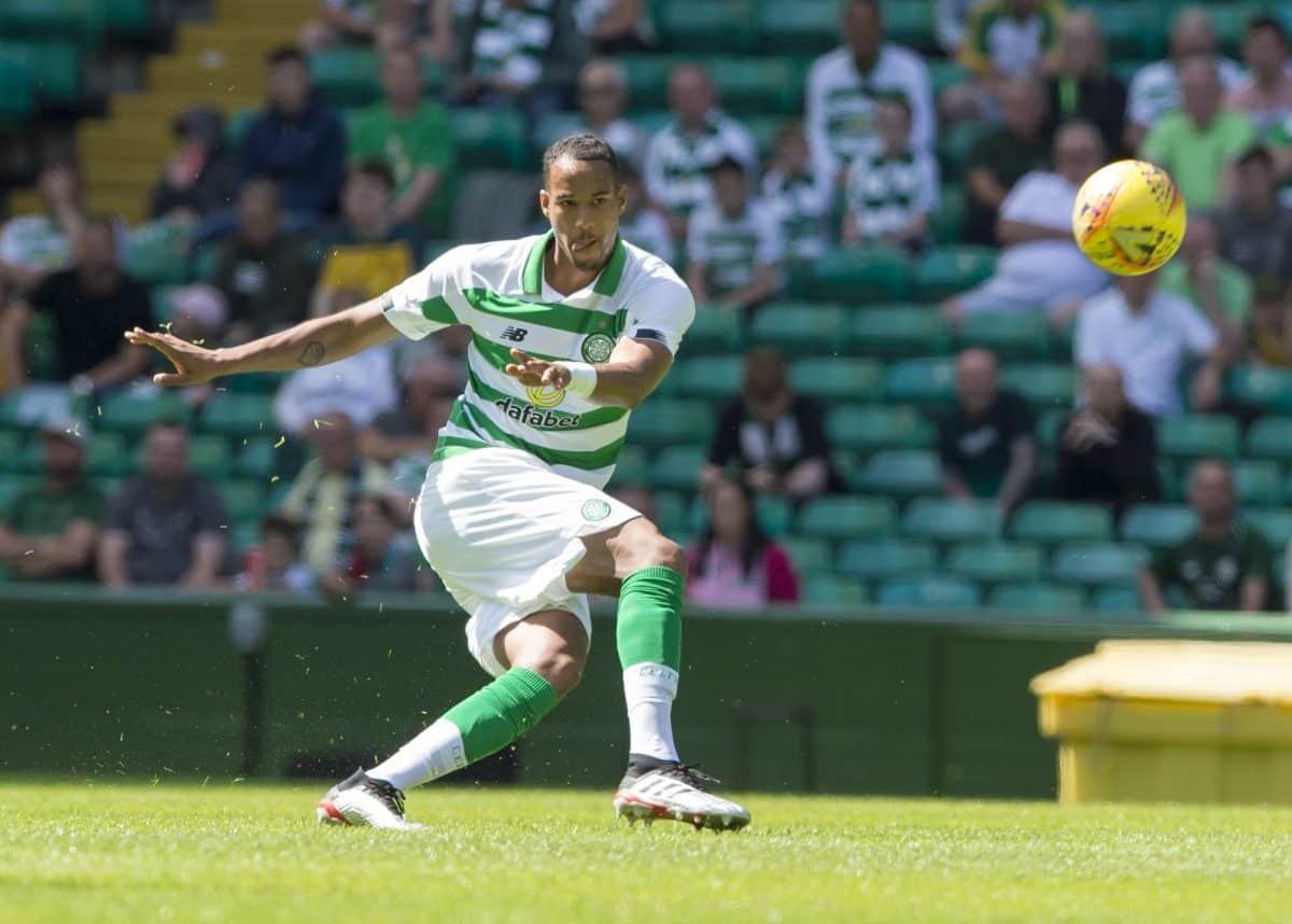 Celtic's Christopher Jullien in action credit;PA