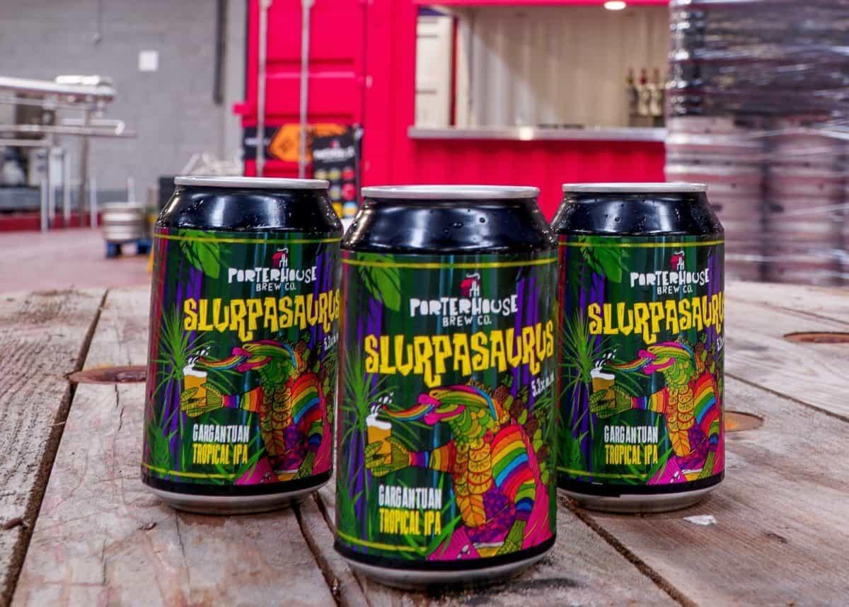 Porterhouse Brew Co Slurpasaurus Gargantuan Tropical IPA