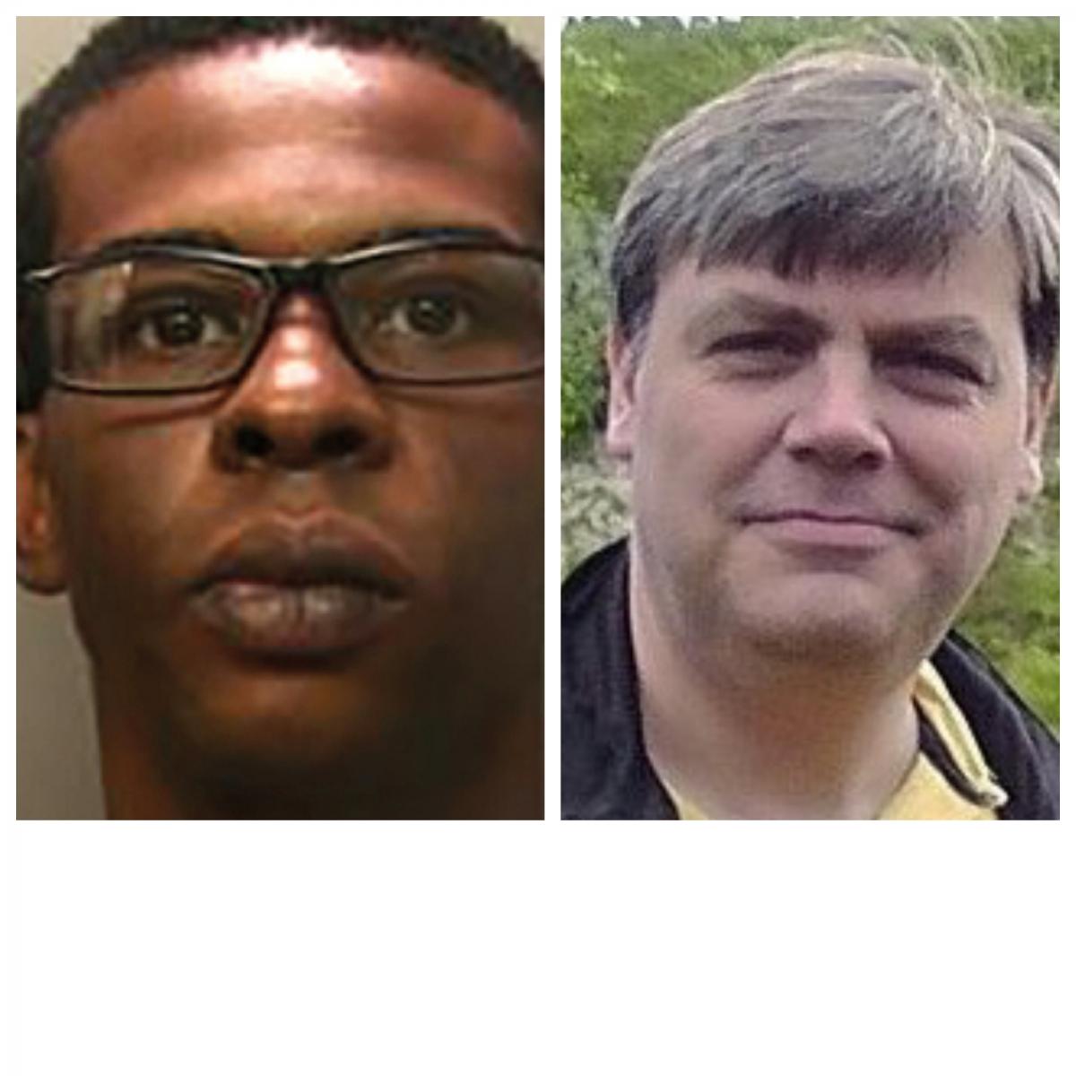 Darren Pencille (left) was jailed for the murder of Lee Pomeroy (BTP/PA)