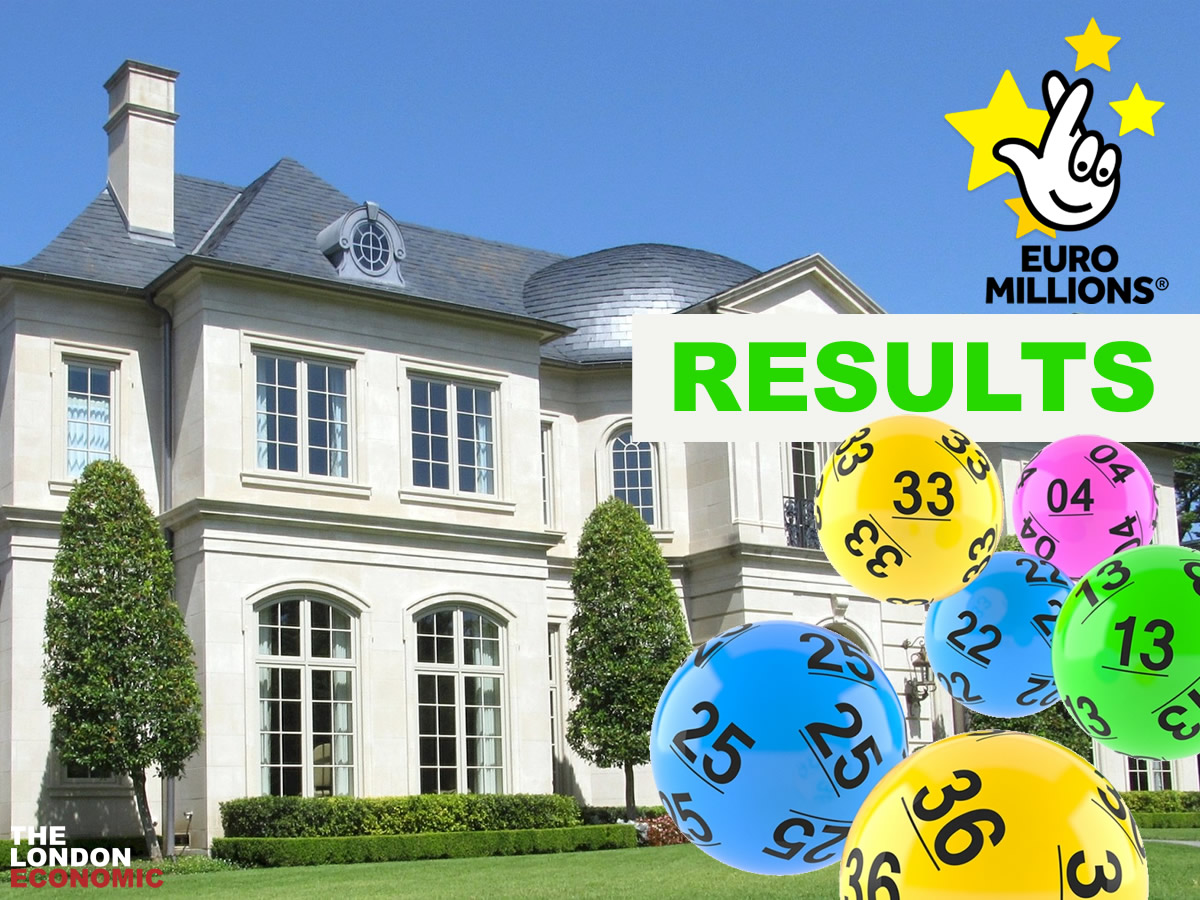Euro Millions Lotto Results