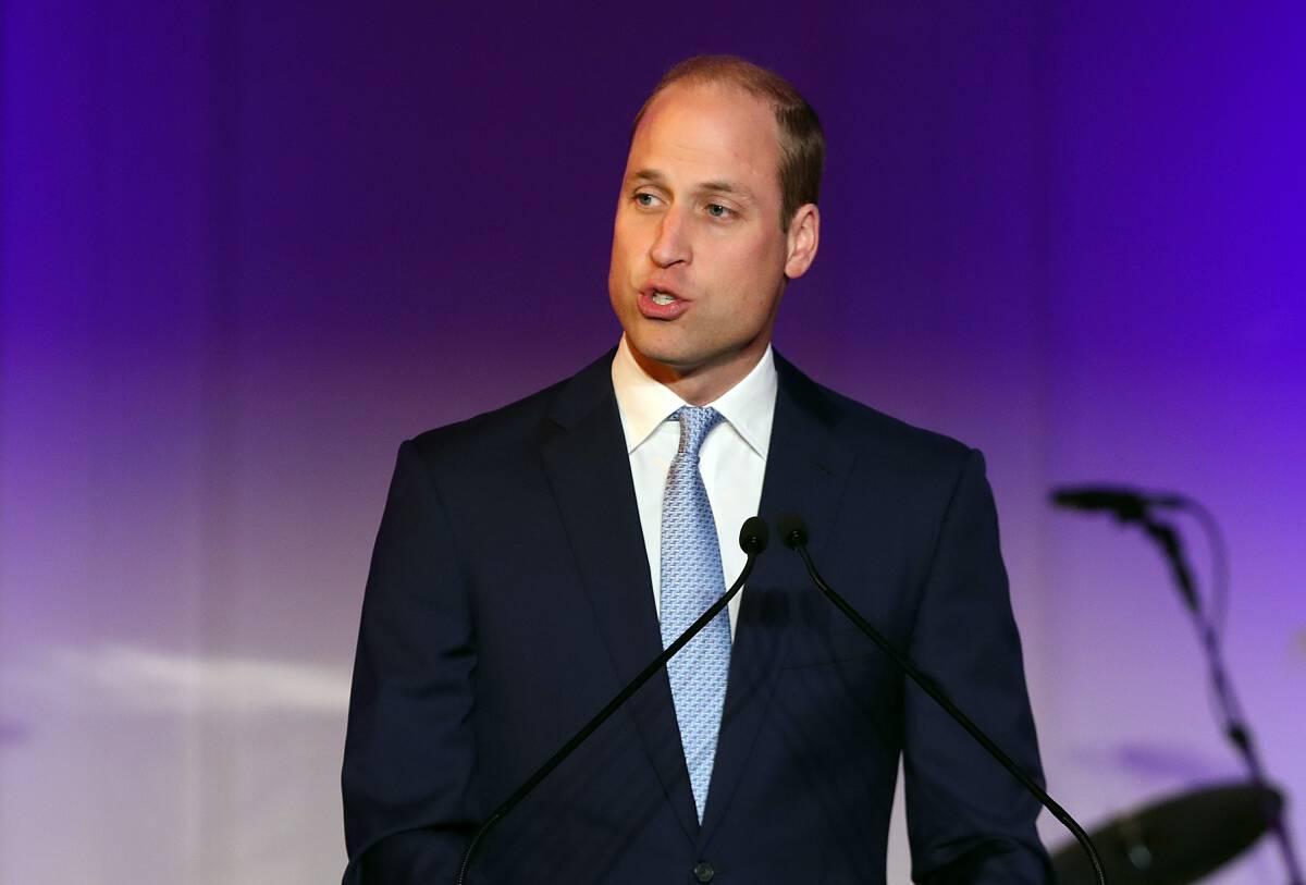 The Duke of Cambridge speaks at the Child Bereavement UK charity's 25th Birthday Gala Dinner in Kensington Palace, London.